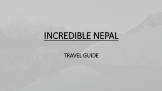 Great Nepal Beautiful Nepal