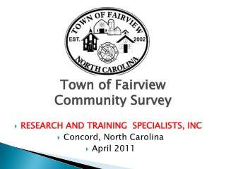 Town of Fairview Community Survey