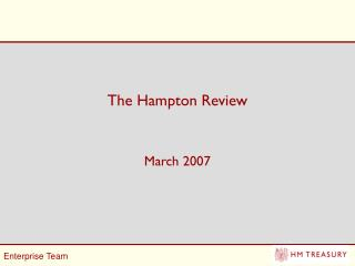 The Hampton Review