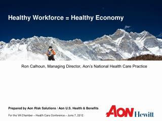 Healthy Workforce = Healthy Economy