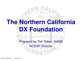 The Northern California DX Foundation