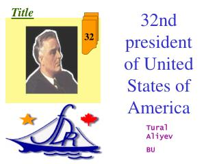 32nd president of United States of America