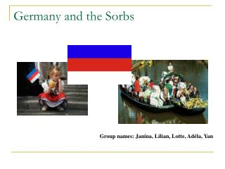 Germany and the Sorbs