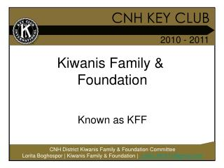 CNH KEY CLUB