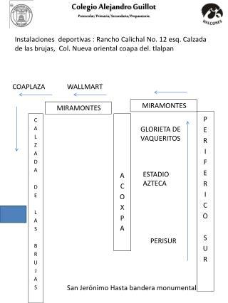 Colegio Alejandro  Guillot Preescolar/ Primaria/ Secundaria/ Preparatoria