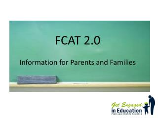 FCAT 2.0  Information for Parents and Families