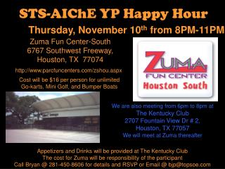 STS-AIChE YP Happy Hour