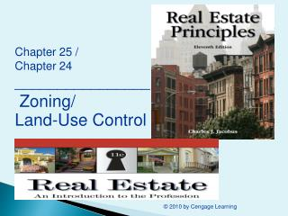 Chapter 25 /  Chapter 24 ________________  Zoning/ Land-Use Control