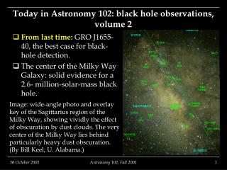 Today in Astronomy 102: black hole observations, volume 2
