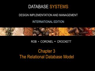 Chapter 3 The Relational Database Model