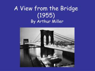 A View from the Bridge (1955)