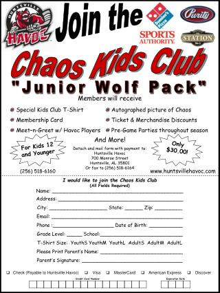 Chaos Kids Club