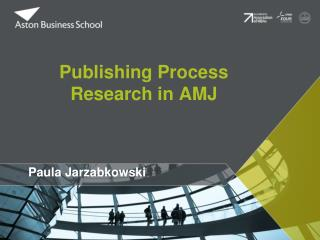 Publishing Process Research in AMJ