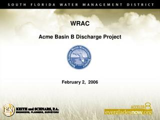 WRAC  Acme Basin B Discharge Project  February 2,  2006