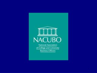 NACUBO/Washington Update