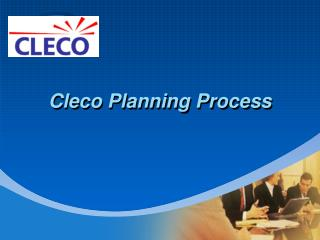 Cleco Planning Process