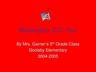 Washington, D.C. Tour