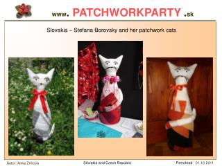 www . PATCHWORKPARTY . sk