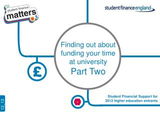 Finding out about  funding your time  at university Part Two