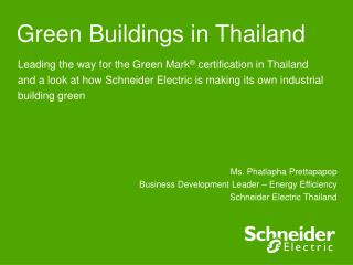 Green Buildings in Thailand