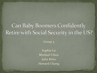 Can Baby Boomers Confidently Retire with Social Security in the US?