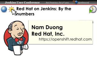 Red Hat on Jenkins: By the numbers