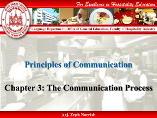 The Role of Communication Systems