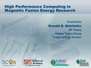 High Performance Computing in Magnetic Fusion Energy Research