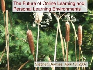 The Future of Online Learning and Personal Learning Environments