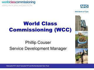 World Class Commissioning (WCC)