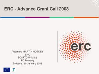 ERC - Advance Grant Call 2008