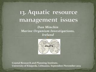 13. Aquatic  resource management  issues