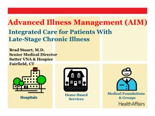 Integrated Care for Patients With Late-Stage Chronic Illness