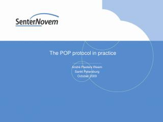The POP protocol in practice