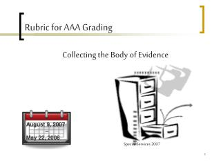 Rubric for AAA Grading