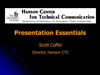 Scott  Coffel Director, Hanson CTC