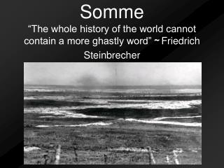 Where Is Somme?
