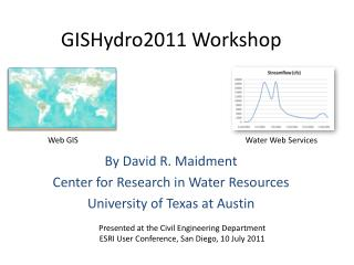 GISHydro2011 Workshop