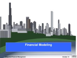 Financial Modeling