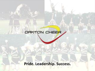 Pride. Leadership. Success.