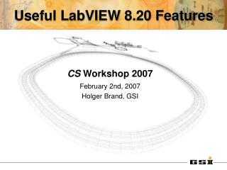 Useful LabVIEW 8.20 Features