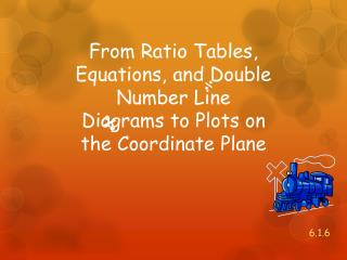 From Ratio Tables, Equations, and Double Number Line Diagrams to Plots on the Coordinate Plane