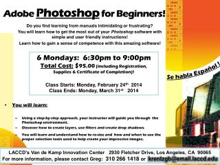 Adobe  Photoshop  for Beginners!