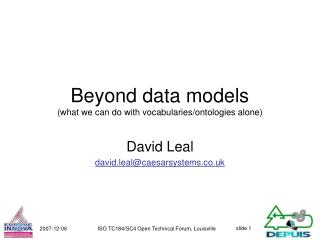 Beyond data models (what we can do with vocabularies/ontologies alone)