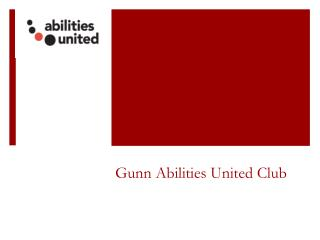 Gunn Abilities United Club