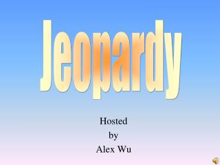Hosted by Alex Wu
