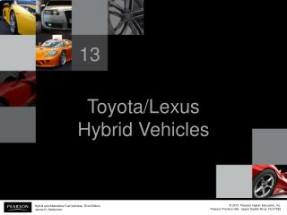 Toyota/Lexus Hybrid Vehicles