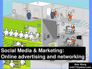 Social Media & Marketing:  Online advertising and networking