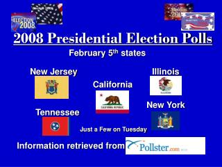 2008 Presidential Election Polls
