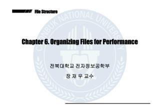 Chapter 6. Organizing Files for Performance